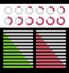 Load indicator vector image vector image