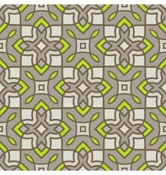 Ornamental seamless pattern natural neon vector