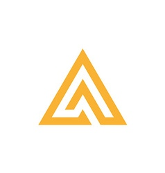 Triangle logo vector