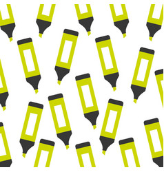 highlighter pen pattern background vector image