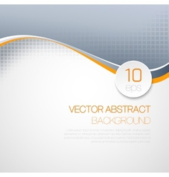 Wavy technical background vector
