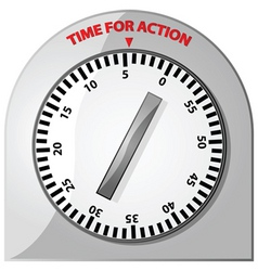 Time for action vector