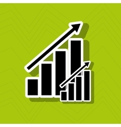 Growth icon design vector