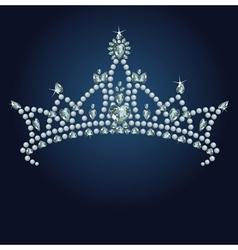 16 tiara bg001 vector image