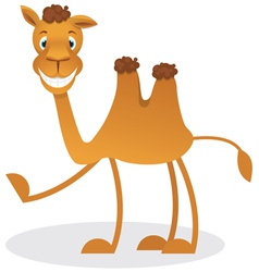 Cartoon camel vector image vector image