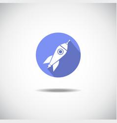 Roket icon vector