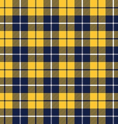 Blue orange tartan fabric texture pattern seamless vector