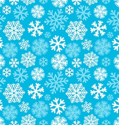 Festive christmas and new year seamless snowflakes vector