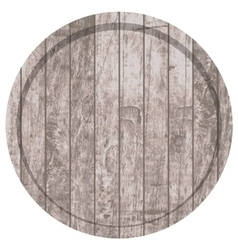 Barrels for beer or wine vector