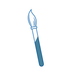 Brush tool graphic design paint icon vector