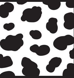 Cow pattern abstract background seamless pattern vector
