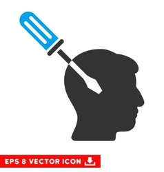 Intellect screwdriver tuning eps icon vector