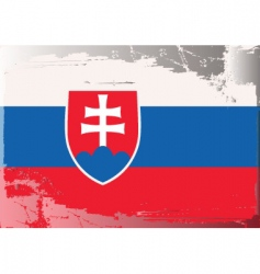 Slovakia national flag vector