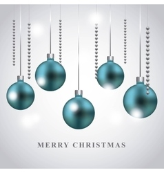 Spheres icon merry christmas design vector