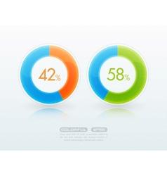 Download progress bar vector