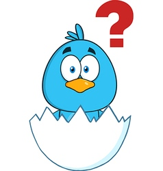 Baby Chick Cartoon vector image