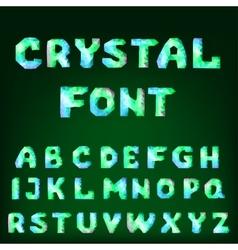 Diamond font vector