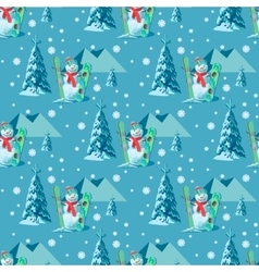 Endless pattern christmas theme seamless vector