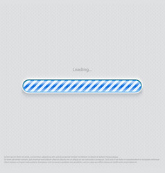 Loading web design blue vector