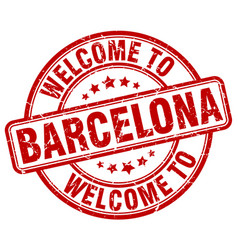Welcome to barcelona vector