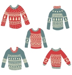 Ugly sweaters vector