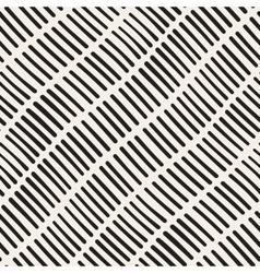 Seamless hand drawn rough diagonal lines vector
