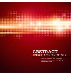 Abstract bokhe lights background disco music vector