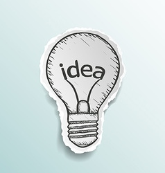 Light bulb Stock vector image vector image