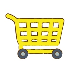 Shopping cart icon image vector
