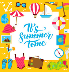 summer paper concept vector image