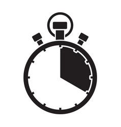 Stopwatch twenty minute vector