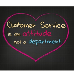Customer service vector