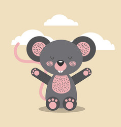 cute animal vector image vector image