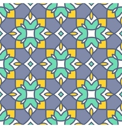 Geometric seamless pattern Abstract arabic vector image vector image