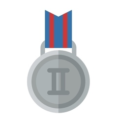 Medal place vector image