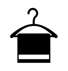 Drying hook laundry icon vector