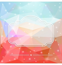 Glass frame vector