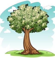 A money tree vector