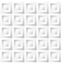 abstract background white and gray tiles vector image vector image