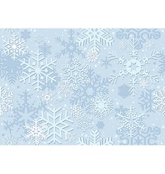 Blue christmas paper vector