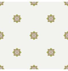 Geometric ornament thin line seamless pattern vector