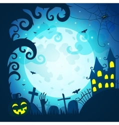 Halloween poster and card vector