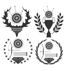 Archery vector image