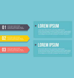 Collection design step business infographic vector