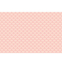 seamless pattern dragon fish scales simple vector image