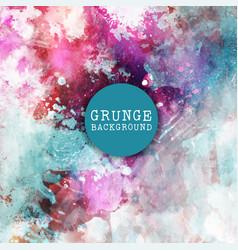 Grunge paint background vector