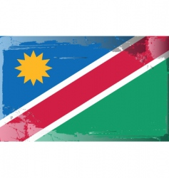 Namibia national flag vector