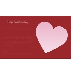 Love for valentine card collection vector
