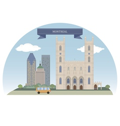 Montreal vector image