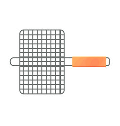 the small grill grid vector image